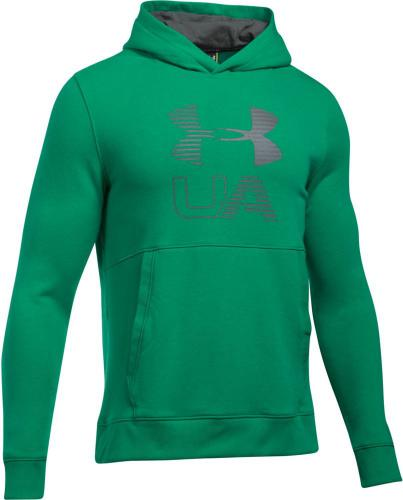 Under Armour Bluza męska Threadborne Graphic Hoodie zielona  r. S (1299143-933)