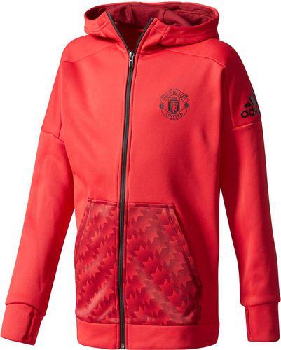 cadd3ce5586f Adidas Bluza juniorska YB MUFC ID FZHD czerwony r. 176 cm (CE8907)