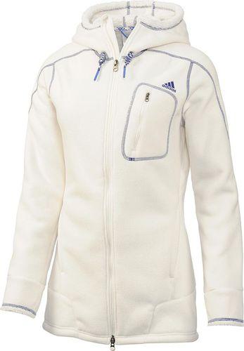 Adidas Bluza damska sportowa Teddy biała r. 38 (G91607)