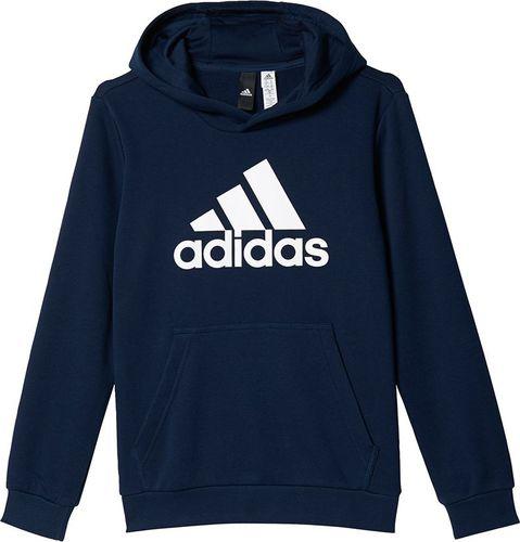 Adidas Bluza juniorska Boys Essentials Logo Hoodie granatowa r. 128 cm (BP8773)