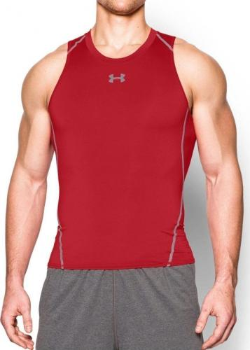 Under Armour Koszulka męska bezrękawnik Armour Compression Tank Red r. XXL (1271335600)