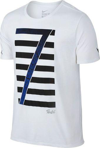 Nike Koszulka męska Ronaldo Logo Tee biała r. S (789414-100)