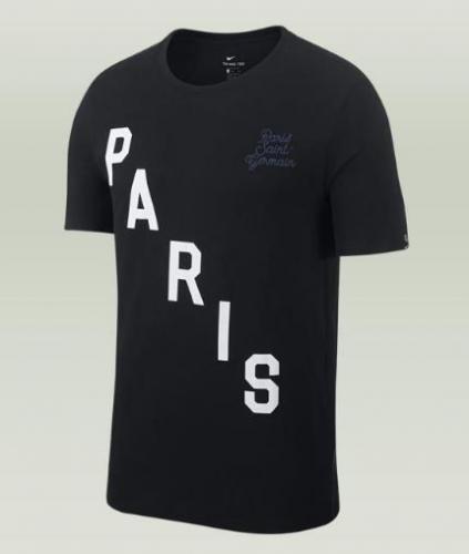 Nike Koszulka męska PSG M NK SQUAD czarna r. XL (841726 010)