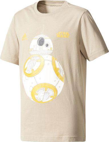 Adidas Koszulka dziecięca BB-8  beżowa r. 152 cm (CG1556)