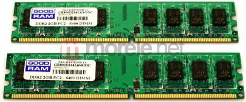 Pamięć GoodRam DDR2 4GB (2x2GB) 800MHz CL6 (GR800D264L6/4GDC)