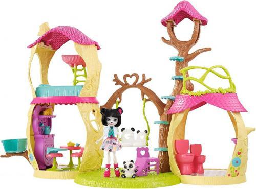 Mattel Enchantimals Zestaw. Leśny Domek FNM92