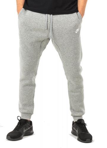 Nike Spodnie męskie Men`s  Sportswear Jogger Club FLC szary r. XL (804408 063)