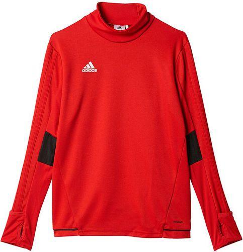 Adidas Bluza piłkarska Sereno 14 czerwona r. S (D82946)