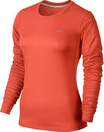 Nike Koszulka damska Dry Miler Top V Neck czerwona r. M