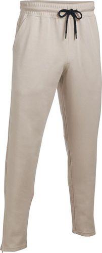 Under Armour Spodnie sportowe Ali Knit Pant-OAH//BLK beżowe r. XL (1290302-250)