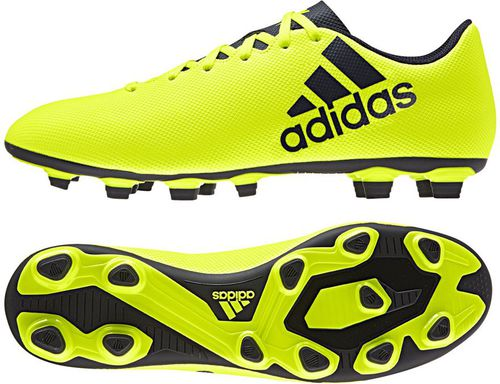 Adidas Buty piłkarskie X 17.4 FxG żółte r. 40 2/3 (S82401)