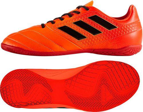 Adidas Buty piłkarskie ACE 17.4 IN Jr pomarańczowe r. 29 (S77107)