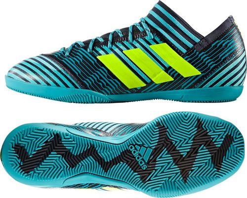 Adidas Buty piłkarskie Nemeziz Tango 17.3 IN niebieskie r. 45 1/3 (BY2462)