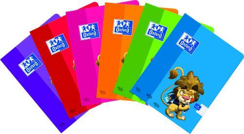 Oxford Zeszyt A5 16K Lion, podwójna linia (TOP41123210, 100302273)
