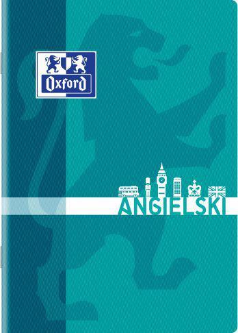 Oxford Zeszyt A5 60K Język angielski, kratka (400092594)