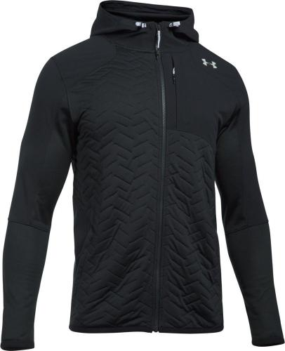 Under Armour Bluza męska ColdGear Reactor Fleece Insulated Full Zip Hoodie czarna r. S (1299167-001)