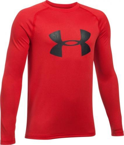 Under Armour Koszulka longsleeve dziecięca UA Big Logo Red r. L (1299389600)