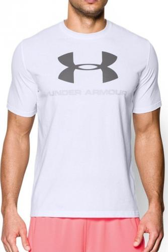 Under Armour Koszulka męska Sportstyle Logo White r. XL (1257615100)