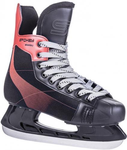 Spokey Łyżwy hokejowe Stanley czarne r. 39 (921121)