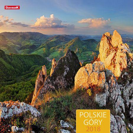 Dan-mark Kalendarz 2018, 30x30, Polskie Góry (257078)