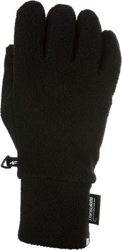 4f Rękawiczki zimowe unisex H4Z17-REU002  czarne r. S