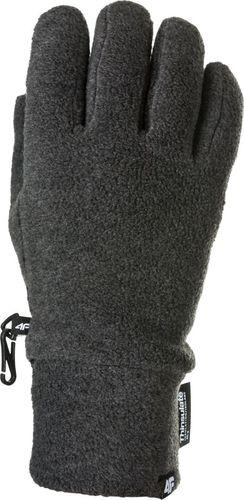 4f Rękawiczki zimowe unisex H4Z17-REU002  szare r. M