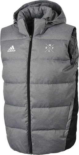 Adidas Kamizelka męska Real Down Vest szara r. S (M30989)