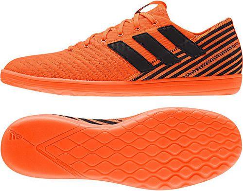Adidas Buty piłkarskie Nemeziz Tango 17.4 IN SALA pomarańczowe r. 47 1/3 (CG3031)
