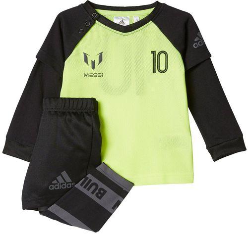Adidas Komplet adidas I Messi Jog CE9804 CE9804 czarny 98 cm - CE9804