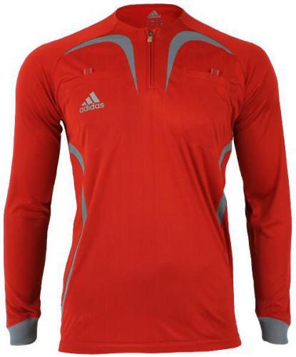 Adidas Bluza sędziowska męska czerwona r.S (069071)