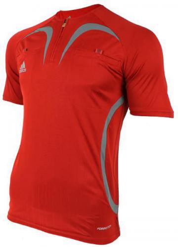 Adidas Koszulka męska sędziowska czerwona r. S  (069082)