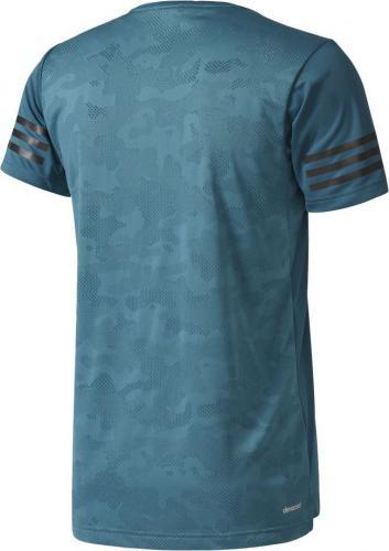 f9ff68edd1c25 Adidas Koszulka męska Free Lift Climacool turkusowa r. M (BK6122) w ...