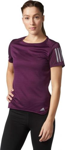 Adidas Koszulka RS SS TEE W fioletowa r. M (BQ7964)
