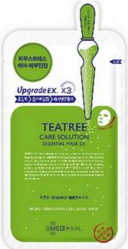 MEDIHEAL Teatree Care Solution Essential Mask EX esencjonalna maska kojąca do twarzy 24ml