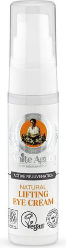 Babuszka Agafia BANIA AGAFII_White Agafia Natural Lifting Eye Cream naturalny liftingujący krem pod oczy 30ml - 4743318167725
