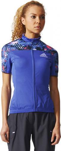 Adidas Koszulka rowerowa Trail Race Cycling Jersey fioletowa r. L (S05566)