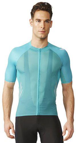 Adidas Koszulka rowerowa Adizero SS Jersey niebieska r. S (AI2805)