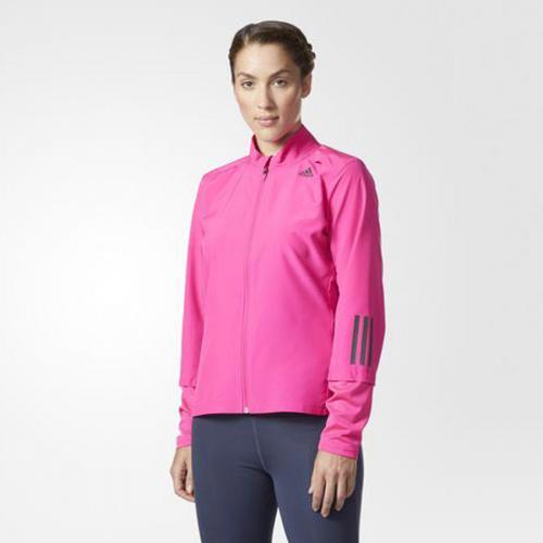 Adidas Kurtka damska Response Wind różowa r. M (BQ3560)