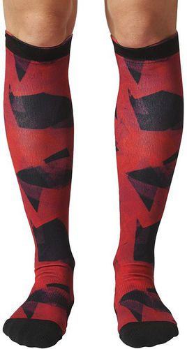 Adidas Skarpety CL KN W G TC czerwone r. 37-39 (BS176)