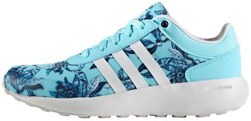 adidas cloudfoam damskie niebieskie