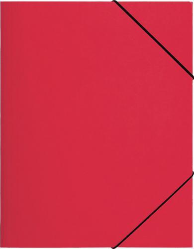 PAGNA Teczka z gumką A4, czerwona PP (P2161303)