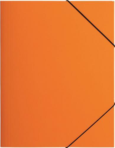 Pagna Teczka z gumką A4, pomarańczowa PP (P2161309)