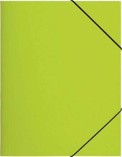 Pagna Teczka z gumką A4, jasno zielona PP (P2161317)
