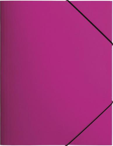 Pagna Teczka z gumką A4, różowa PP (P2161334)