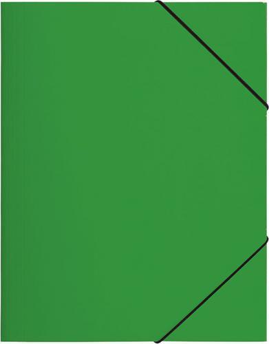 PAGNA Teczka z gumką A3, zielona PP (P2163805)