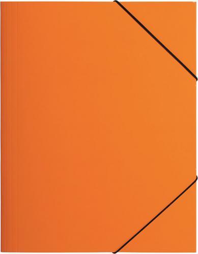 PAGNA Teczka z gumką A3, pomarańczowa PP (P2163809)