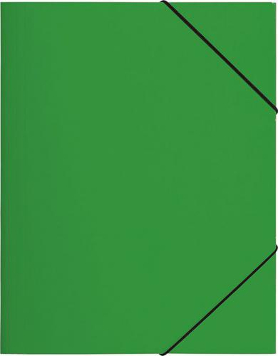 PAGNA Teczka z gumką A4, zielona PP (P2161305)