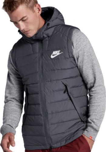Nike Bezrękawnik Down Fill kolor szary r. S (806858 021)