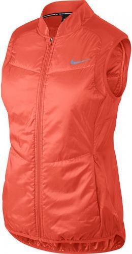 Nike Kamizelka damska  Polyfill Running pomarańczowy r. L (689256 842)