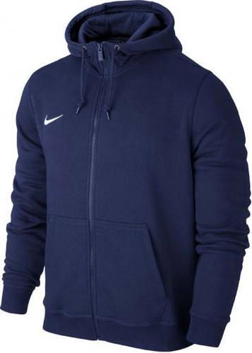 Nike Bluza męska Team Club FZ Hoody granatowa r. S (658497 451)